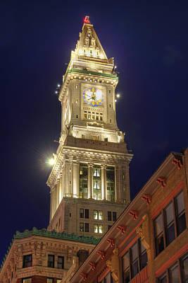 Photograph - Marriott Custom House - Boston by Joann Vitali
