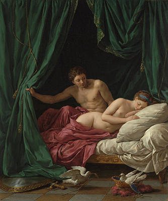 Nu Painting - Mars And Venus, Allegory Of Peace Mars Et Vénus by Litz Collection