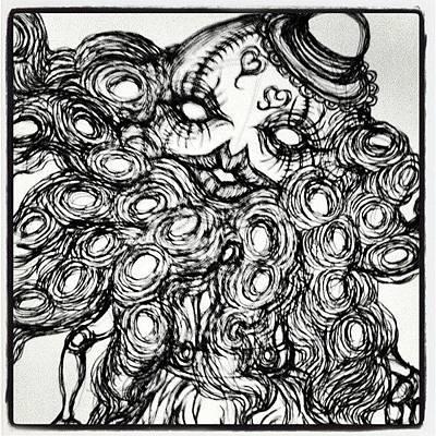 Octopus Wall Art - Photograph - Mars Attack !!! by Akiko Okabe
