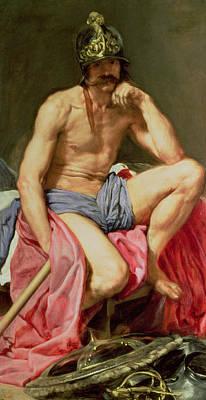 Velazquez Painting - Mars by Diego Velazquez