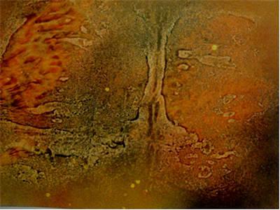 Painting - Mars Land by Cruz Selene Ambrosio