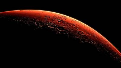 Photograph - Mars Sunrise by Benjamin Yeager