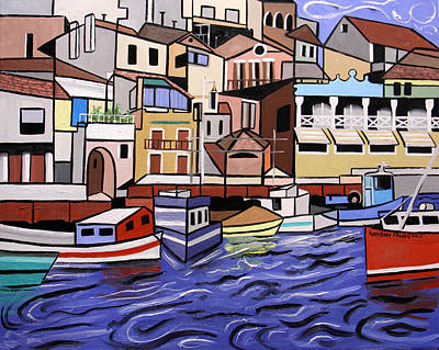 Marseille Painting - Marseille France by Anthony Falbo