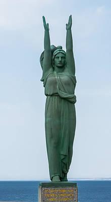 Photograph - Marseille Wwii War Memorial by Herb Paynter