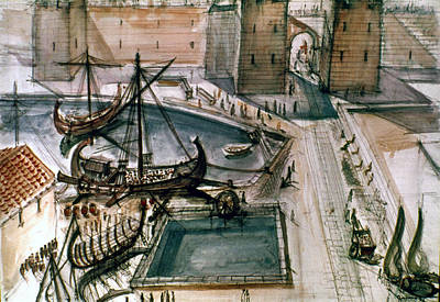 Marseilles, C100 Art Print by Granger