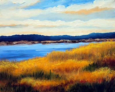 Marsh 3 Art Print by Laura Tasheiko