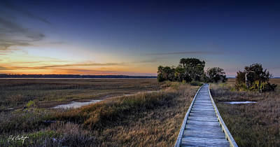 Lowcountry Marshes Photograph - Marsh Bridge by Phill Doherty