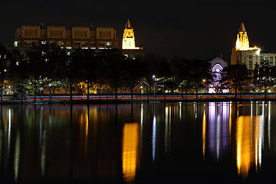Charles River Photograph - Marsh Chapel Boston University by Juergen Roth