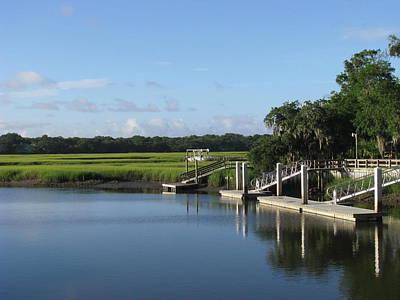 Photograph - Marsh Dock by Ellen Meakin