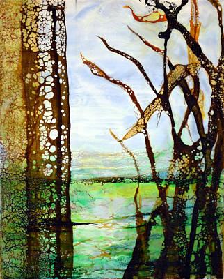Painting - Marsh Grass Study by Jennifer  Creech