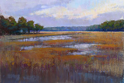 Pastel - Marsh by Greg Barnes