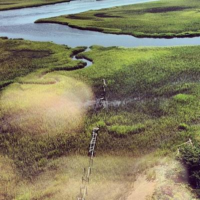 Marsh Photograph - #marsh #oldbaldy by Courtney Mccorkle
