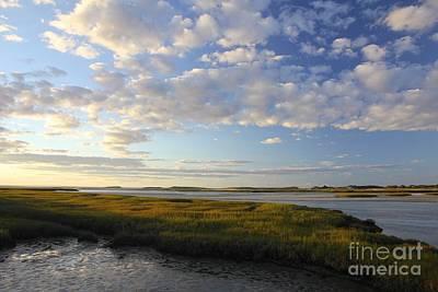Photograph - Marsh Sunset by Jim Gillen