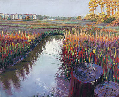 Painting - Marsh View by David Randall