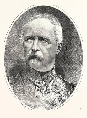 Marshal Maahon, President Of The French Republic Art Print