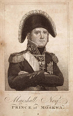 Red Hat Society Photograph - Marshal Ney by British Library