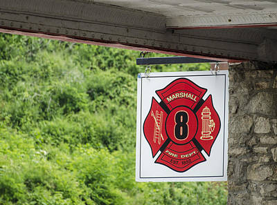 Photograph - Marshall Fire Department 8 by Carolyn Marshall