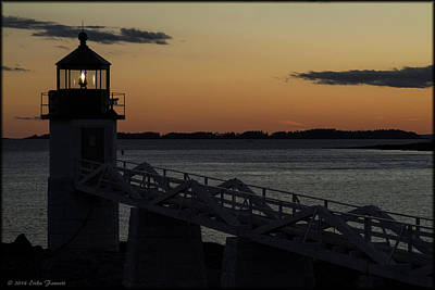 Photograph - Marshall Point Light by Erika Fawcett
