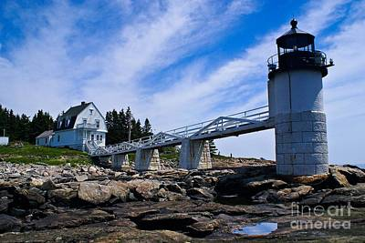Photograph - Marshall Point Light. by New England Photography