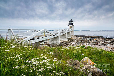 Photograph - Marshall Point Light by Susan Cole Kelly