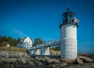Photograph - Marshall Point Lighthouse 7k02611 by Guy Whiteley