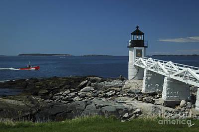 Photograph - Marshall Point Lighthouse by Alana Ranney
