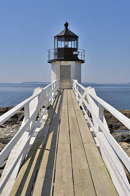 Photograph - Marshall Point Lighthouse Port Clyde Maine by Marianne Campolongo