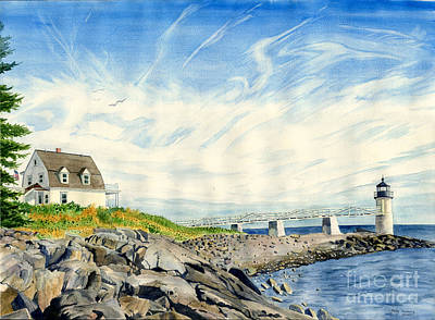 Painting - Marshall Point by Melly Terpening