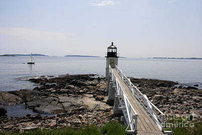 Photograph - Marshalls Point Light Station Port Clyde by Christiane Schulze Art And Photography