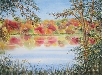 Deborah Brown Painting - Marshall's Pond by Deborah Ronglien