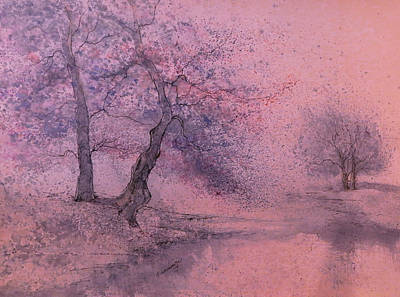 Marshell Creek IIII Art Print by Anna Sandhu Ray
