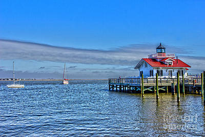 Marshes Lighthouse Art Print by Tom Gari Gallery-Three-Photography
