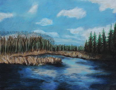 Painting - Marshland 1 by Jeanne Fischer