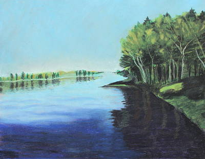 Painting - Marshland 2 by Jeanne Fischer