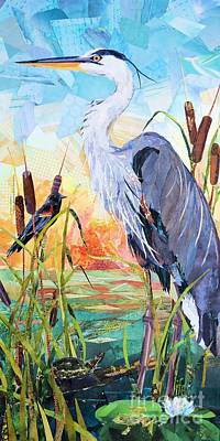 Painting - Marshland Moring by Patricia Henderson