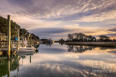 Marshwalk Reflections Original by Matthew Trudeau