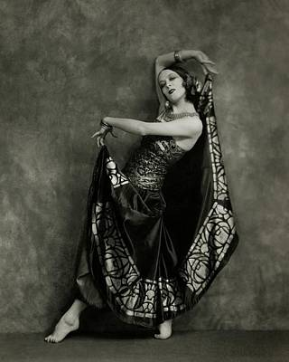 Photograph - Martha Graham Dancing by Nickolas Muray