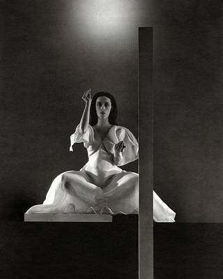 Photograph - Martha Graham In Primitive Mysteries by Edward Steichen