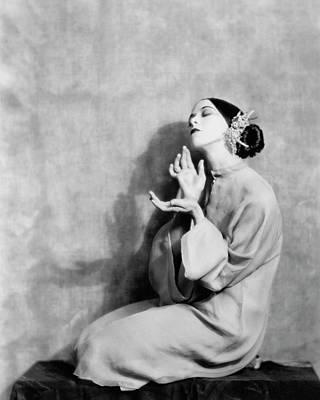 Martha Graham Kneeling Art Print