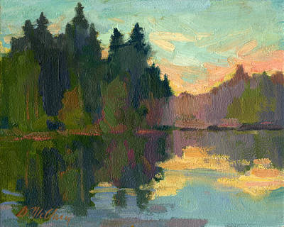 Painting - Martha Lake by Diane McClary
