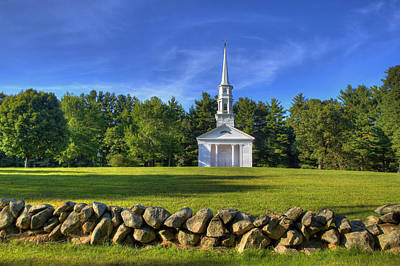 Mountain Landscape Royalty Free Images - Martha Marys Chapel Royalty-Free Image by David Simons