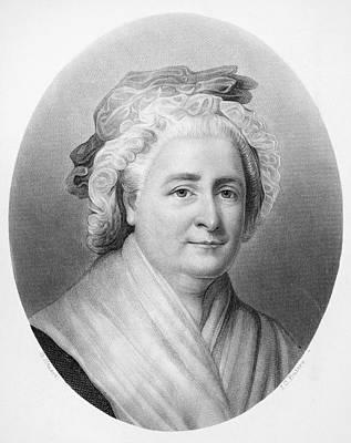 Martha Washington (1732-1802) Art Print