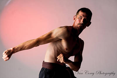Photograph - Martial Artist by Van Corey
