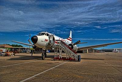 Photograph - Martin 404 Airplane by Tim McCullough