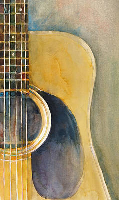 Martin Acoustic Guitar Original by Dorrie Rifkin