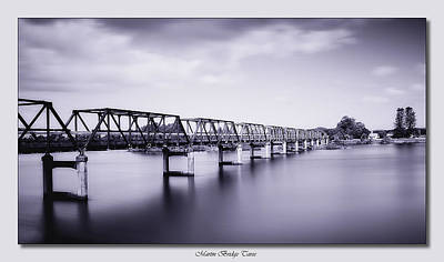 Photograph - Martin Bridge Taree 011 by Kevin Chippindall