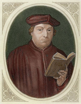 Bible Photograph - Martin Luther (eisleben, 1483 by Prisma Archivo