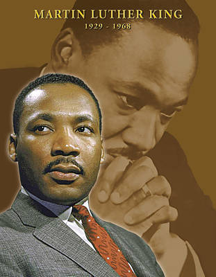 Martin Luther King Digital Art - Martin Luther King by Harold Shull