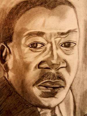 Martin Luther King Drawing - Martin Luther King by Jo-Ann Hayden