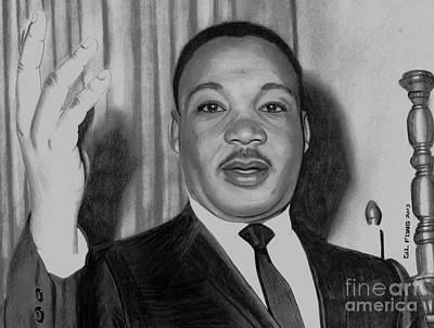 Martin Luther King Jr Art Print